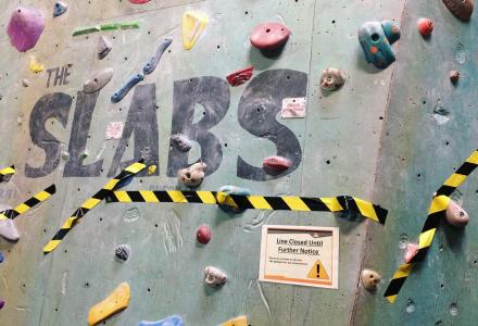 The Slabs Castle Climbing Centre