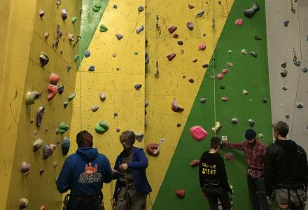 duty manager instructor position the castle climbing centre