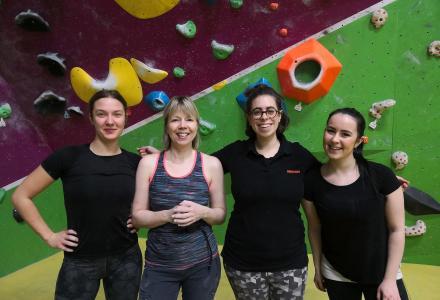 Womens Bouldering Social