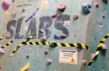 The Slabs Castle Climbing Centre